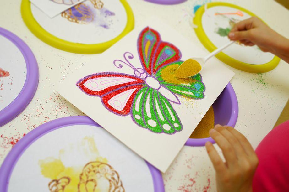 Рисунки своими руками малышей 387